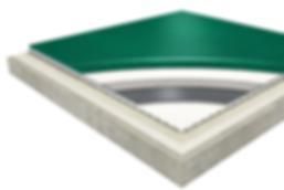 tarkett omnisports Badminton detail floor image