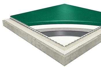 Omnisports Badminton Vinyl Flooring Detail