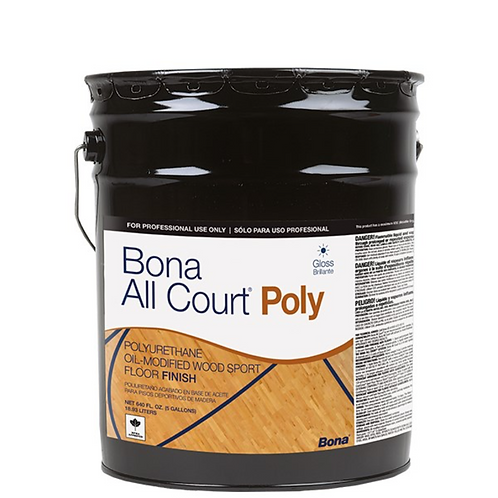 BONA ALL COURT POLYURETHANE FINISH