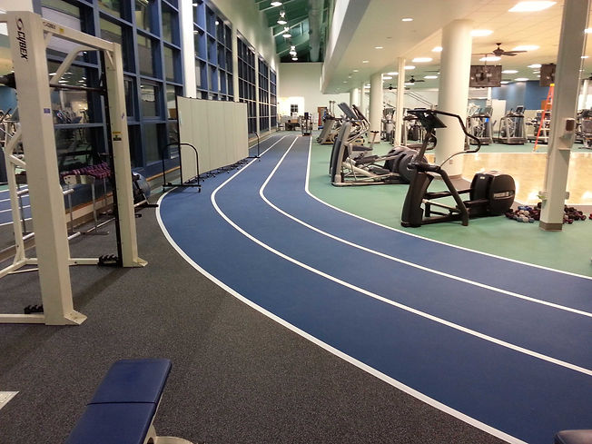 Foster Specialty Floors track synthetic flooring at Duke University Health System