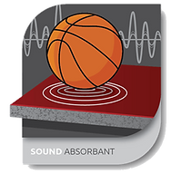 SOUND ABSORBANT - floor system technology