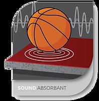SOUND ABSORBANT - Floor Sytem Technology