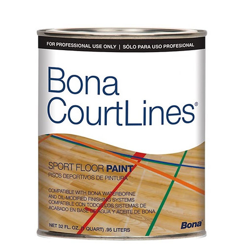 ORANGE - QT SPORT FLOOR PAINT BONA