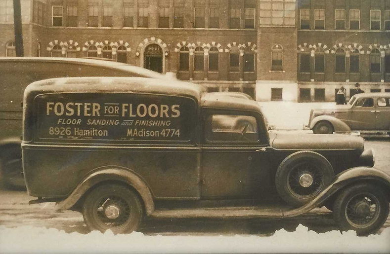Foster Specialty Floors back in 1924