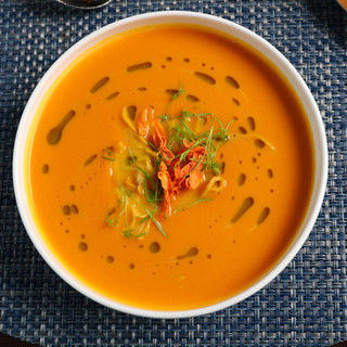Carrot & Ginger Bisque