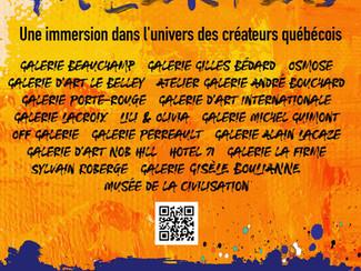 Le mois des Galeries, une immersion dans l'univers des créateurs québécois.