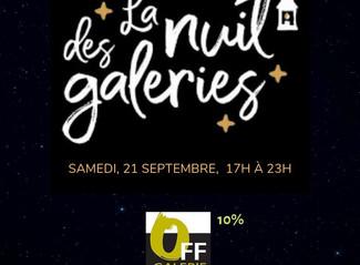 """Une surprise chez OFF pour la """"Nuit des galeries"""""""