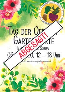 Einladung zum Tag der Offenen Gartenpforte am 06.06.2020 - Abgesagt!