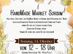 HandMade Market in Sorsum am 14.10