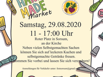 HandMade Market Sorsum Einladung