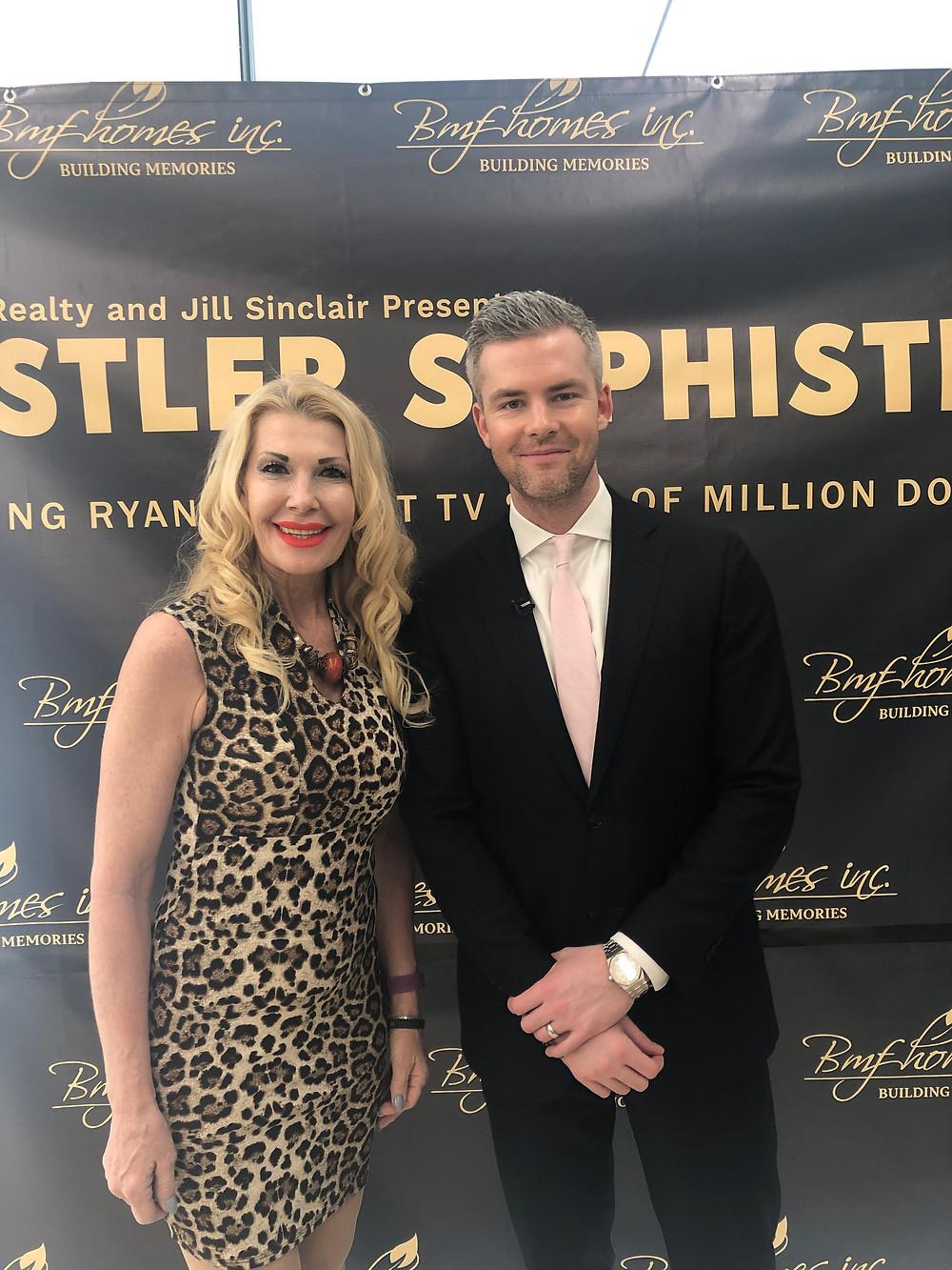 Ryan Serhant (Million Dollar Listing), Rosanne Braniski (Vice President Jirehstone Vancouver)