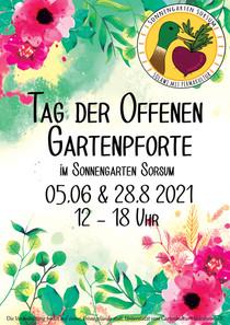 Tag der offenen Gartenpforte im Juni und August