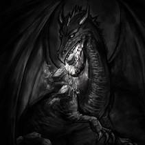 Lasagna breathing Dragon