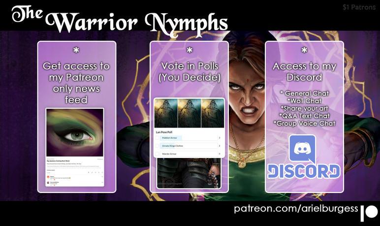 Warrior Nymphs