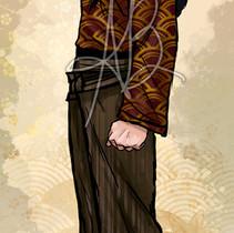Steampunk childrens book costume design