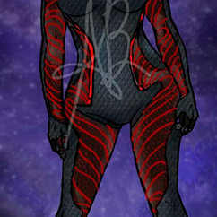 Female Space Suit Design