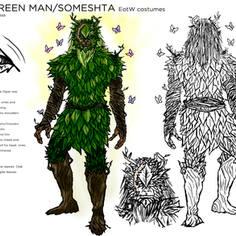 """Someshta """"The Green Man"""""""