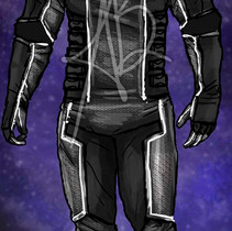 Male Space Suit Design