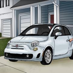 Fiat storyboards