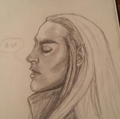 Thranduil Sketch