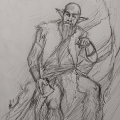 Grizzled old Satyr