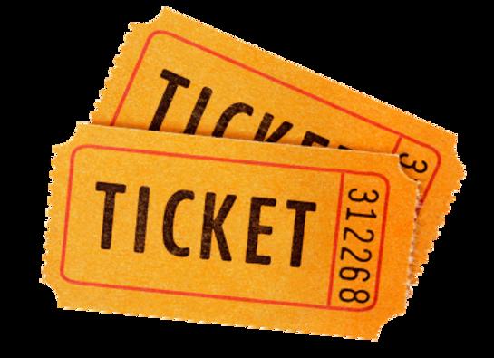 """5000 Tickets 3.5"""" x 8.5"""""""