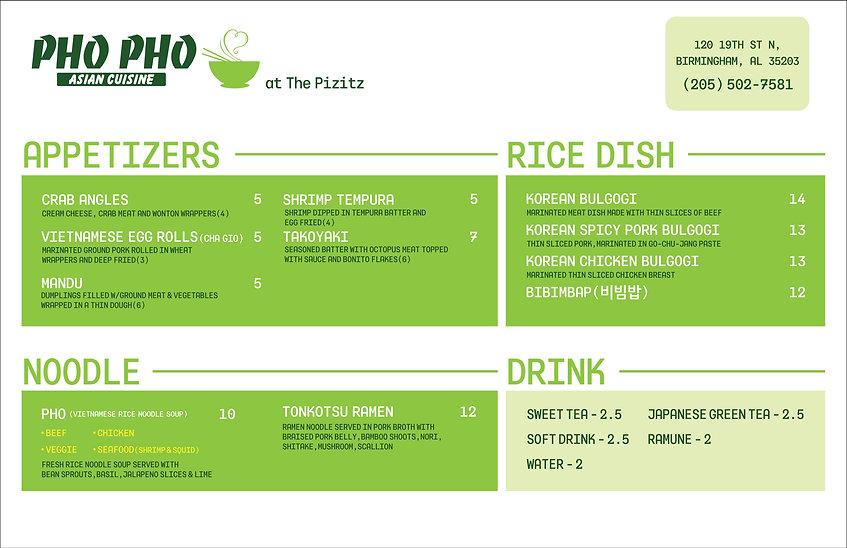 Pho Pho Pizitz Food Hall