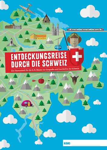 Themenheft «Entdeckungsreise durch die Schweiz»