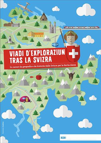 Themenheft «Viadi d'exploraziun tras la Svizra» Sursilvan (Rätoromanisch)