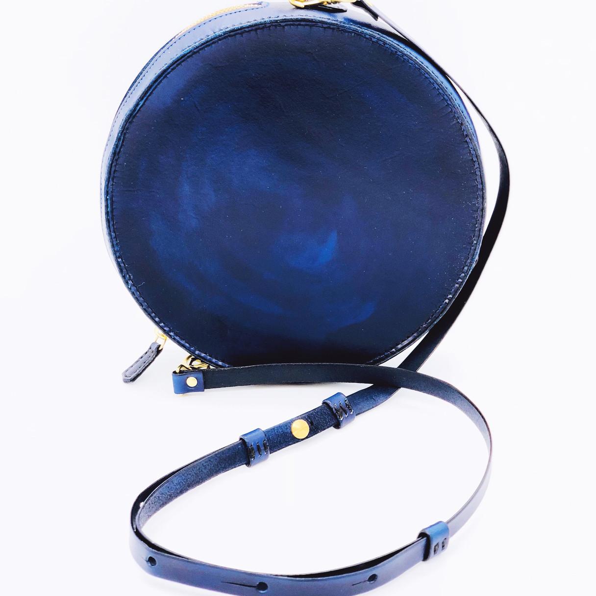 Blue Circle Bag
