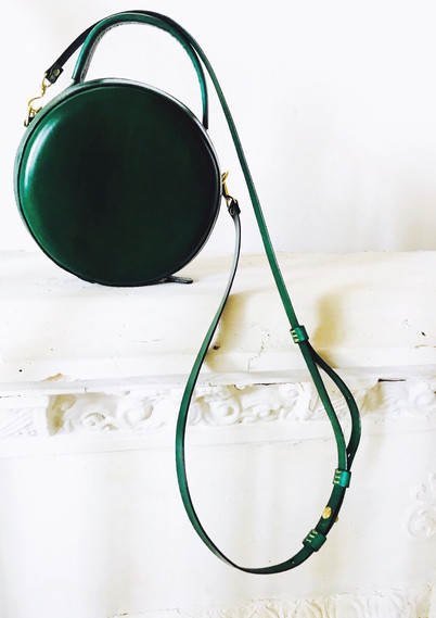 Green Round Bag