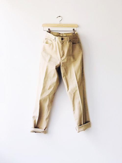 Vintage Beige Pants