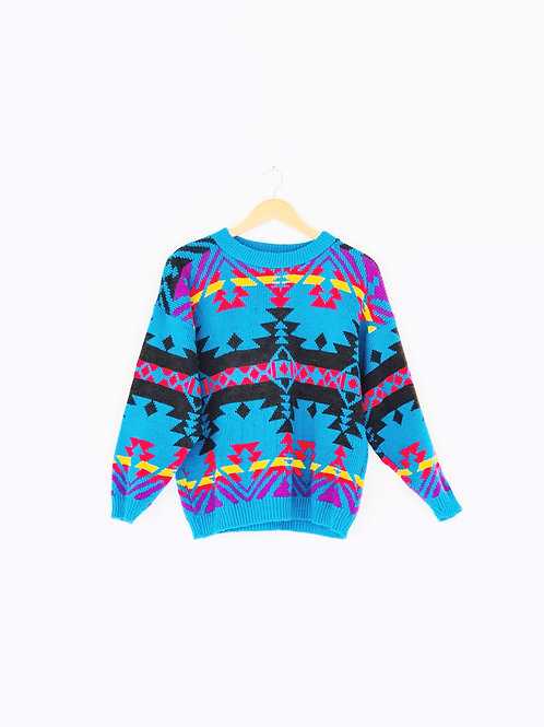 Vintage Turquoise Sweater