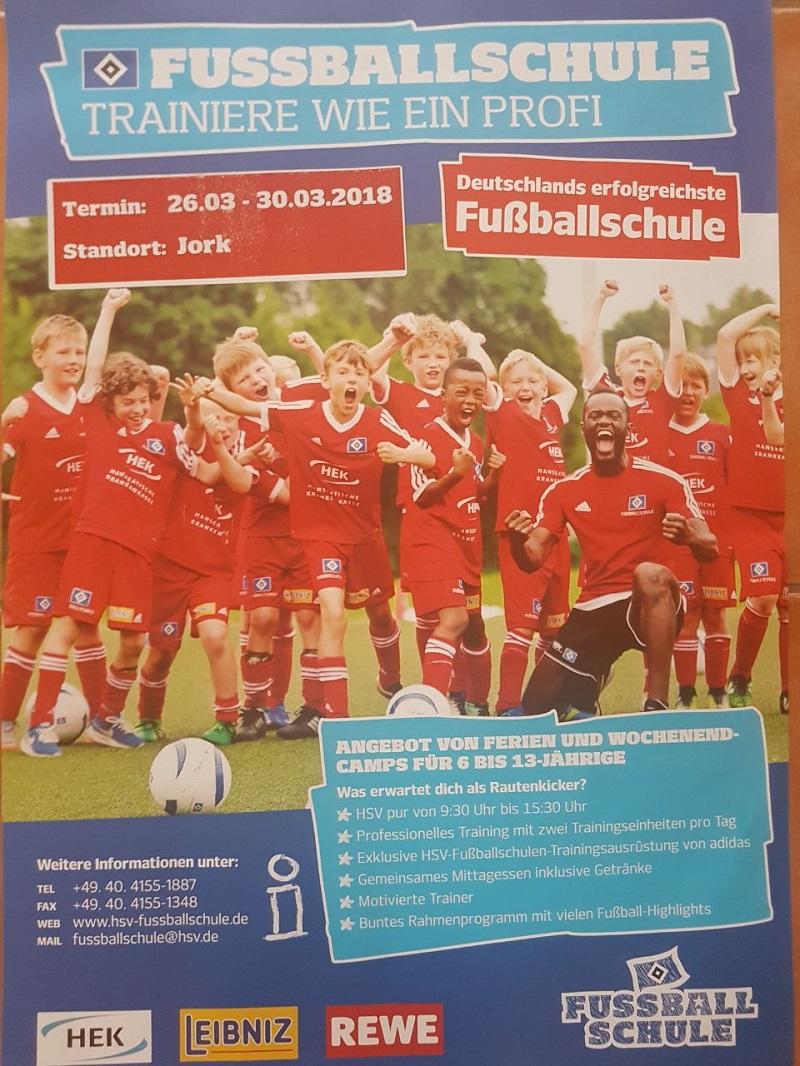 HSV Fussballschule 2018 in Jork | jsg-altesland