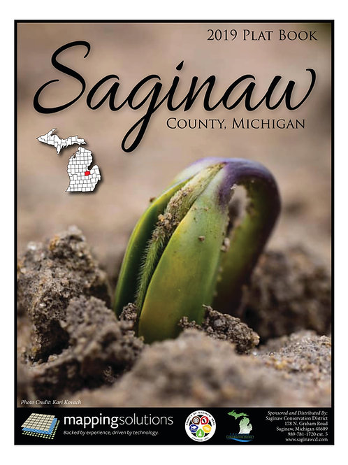 2019 Saginaw County Plat Book