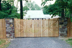 Spaced Picket Gate
