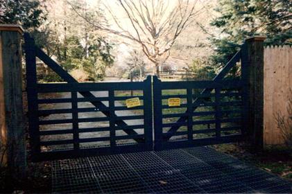 Flat Rail Gate