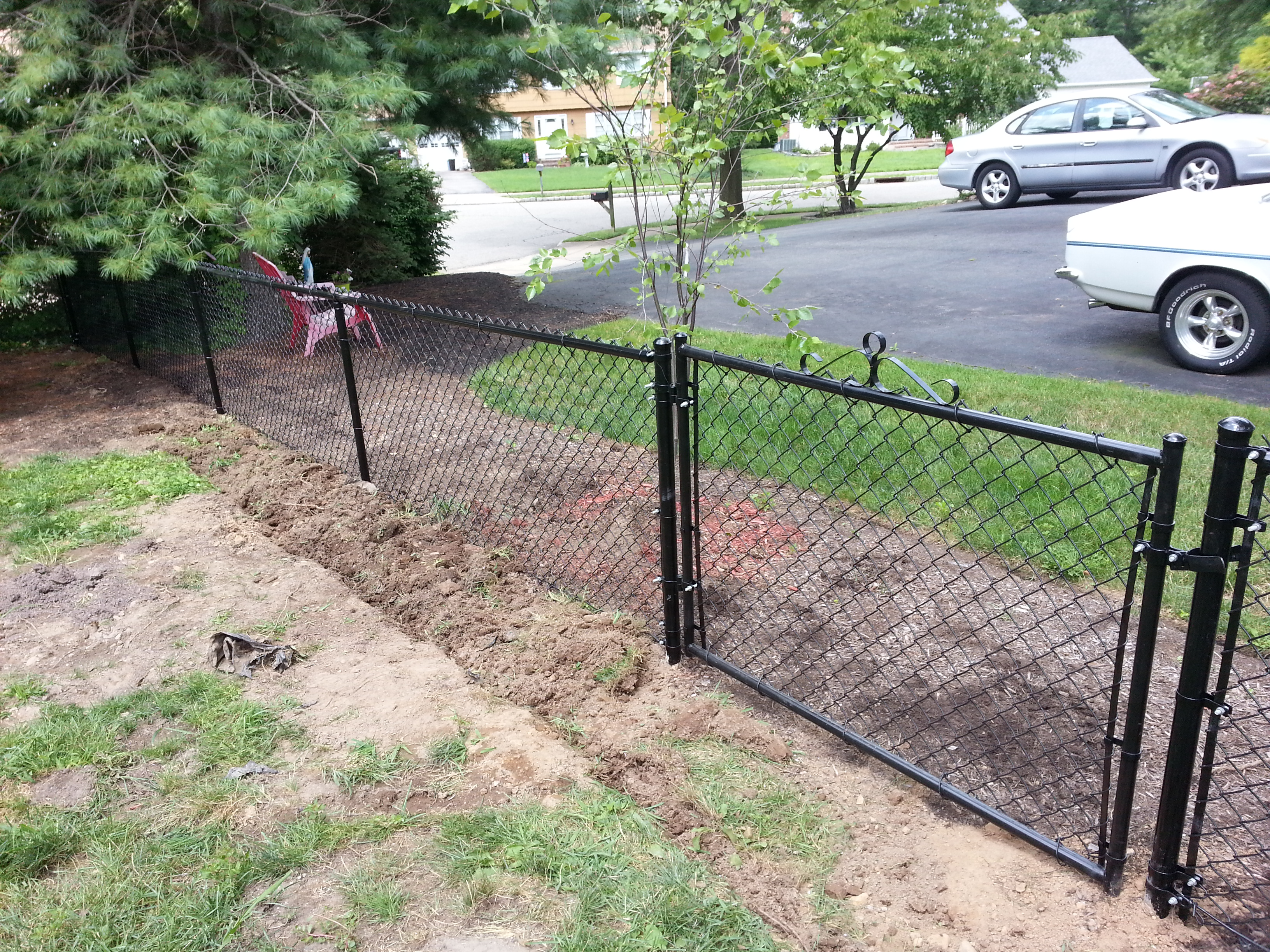 Black Chain Link (Gate)