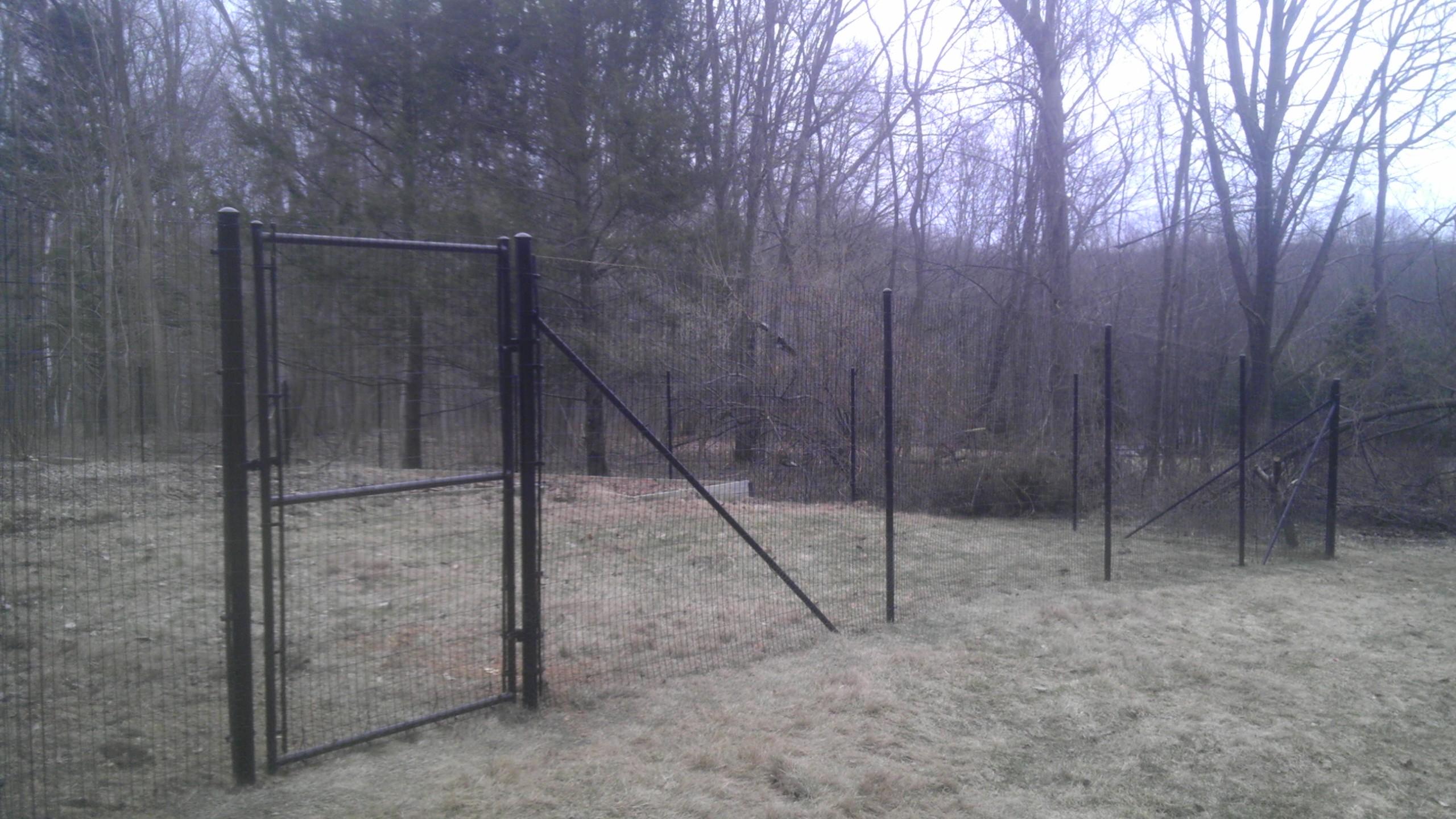2x4 Deer Fence