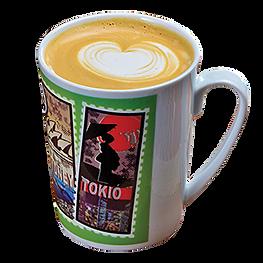 Tokiói csokoládés-málna kávé tejjel - Cafe Frei