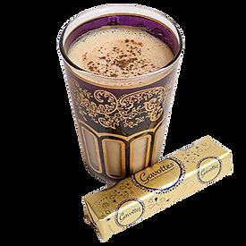 Ománi Tojáslikőr Latte Bretagne-i Mini Palacsintával - Cafe Frei