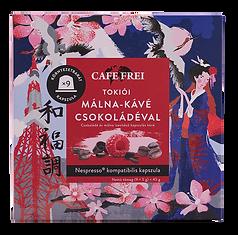 Tokiói málna-kávé csokoládéval díszdobozban kávé kapszula - Cafe Frei