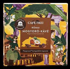 Római mogyoró-kávé díszdobozban kávé kapszula - Cafe Frei