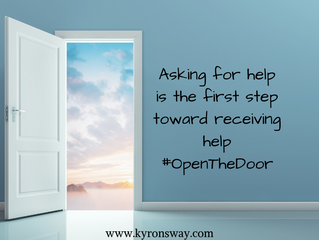 Help Can Only Come Through An Open Door