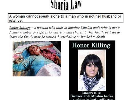 Sharia Law (My Tears and My Sorrow)