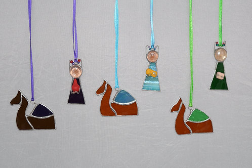 Hanging Nativity Camels
