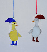 Duck and Umbrella
