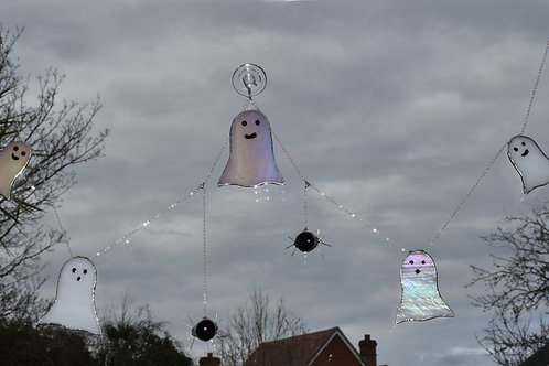 Ghost and Spider Bunting