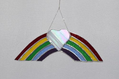Rainbow and Heart