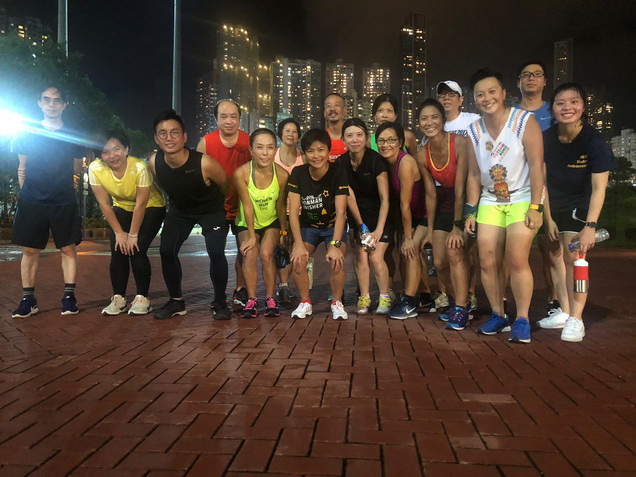 Chow Chi Ngan Jogging Workshop